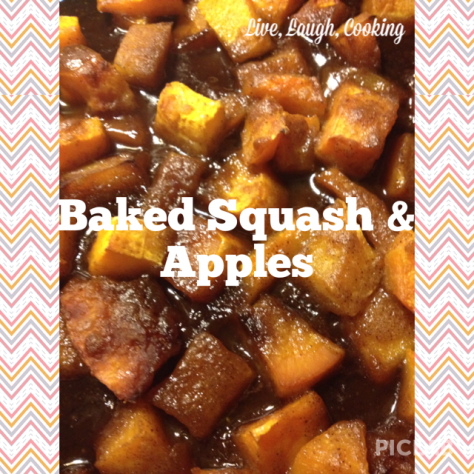 Baked Squash & Apples